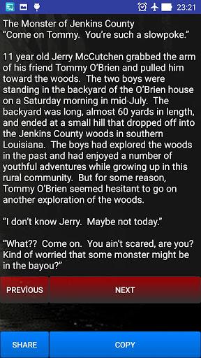 Scary Stories screenshot