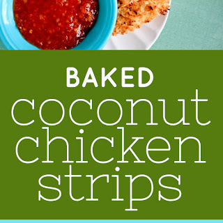 Baked Coconut Chicken Strips