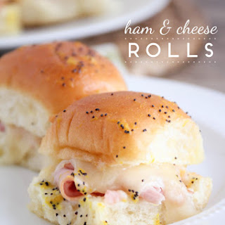 Ham And Swiss Sliders