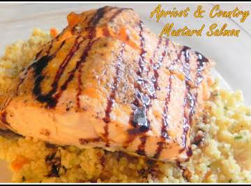 Apricot & Country Mustard Salmon