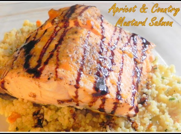 Apricot & Country Mustard Salmon Recipe