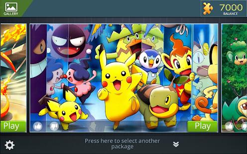 Pokemon Jigsaw Puzzles - náhled
