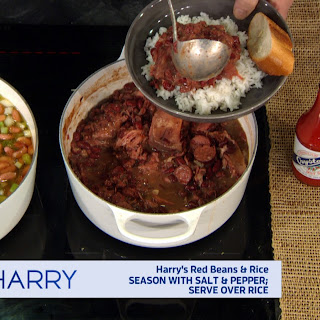 Harry's Home Cooking – Red Beans and Rice.