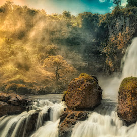 by Mc Pujiyanta - Landscapes Caves & Formations ( landscapes, geopark, rock formation, waterscape, waterfall )