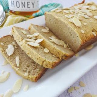 Almond Flour and Honey Sandwich Bread.