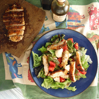 Crispy Italian Chicken Salad
