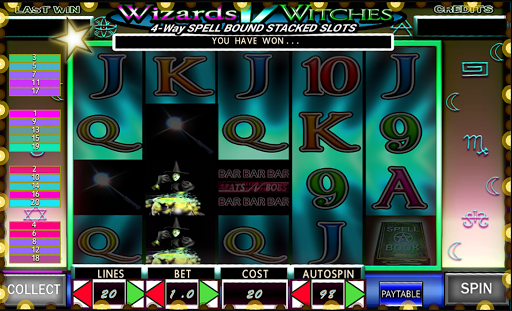 Magic Wizards Video Slotsud83euddd9 7004 screenshots {n} 3