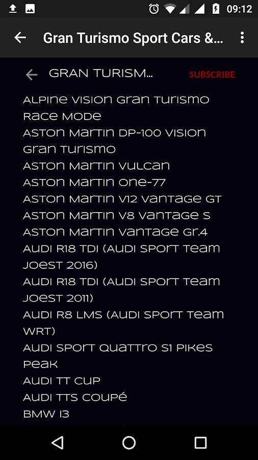 Videos Gran Turismo Sport - στιγμιότυπο οθόνης