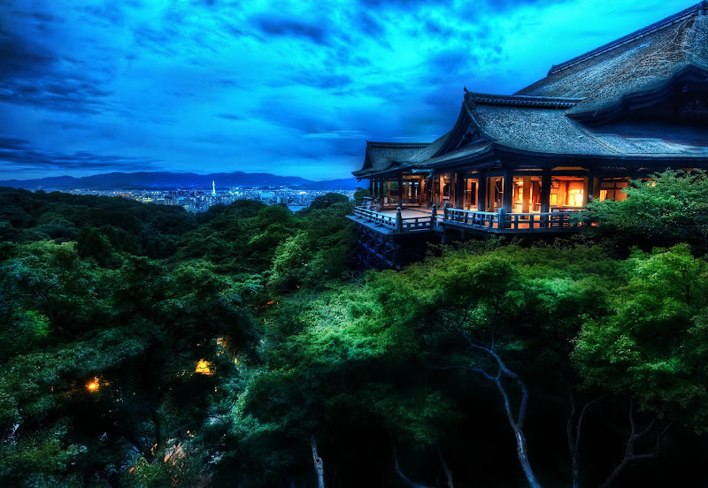 """Photo: Kiyomizu-dera Treetop Temple  Here's a photo I showed during the presentation today... as well as a few things I said that people seemed to like/retweet:  - """"If the establishment is giving you grief for being outside the lines, fuck the establishment and make your own."""" - """"The use of artifice in your craft is virtuous"""" - """"Google+ is not a stream; it's all of Google."""" - """"Don't hire others to be #you . Be yourself on social media. If not you're being disingenuous."""" - """"When you choose to artificially manipulate light in your photo (with lights before or in post processing) is arbitrary."""""""
