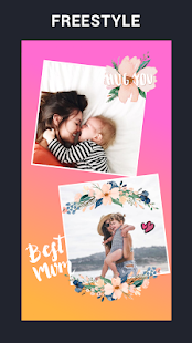 Collage Maker - photo collage & photo editor Screenshot