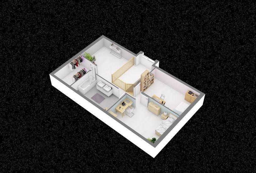Vente Terrain + Maison - Terrain : 980m² - Maison : 123m² à Saint-Ouen-de-Thouberville (27310)