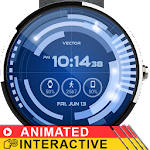 Vector GUI Watch Face Icon