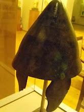 Photo: Apollonia Museum - Macedonian helmet 314-312 BC