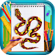 Learn to Draw Snakes Android apk