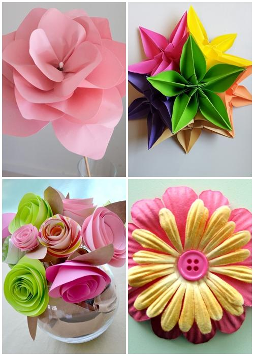 Diy paper flower designs android apps on google play for How to make a paper design