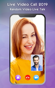 Live Video Call 2019 – Random Video Live Talk App Download For Android 1