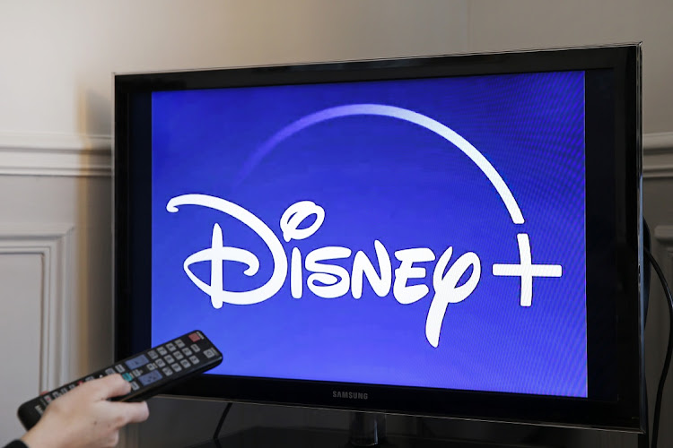 Disney+ is heading to European TV screens on March 24, posing a fresh challenge to Netflix and Amazon. Picture: CHESNOT/GETTY IMAGES