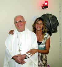 Photo: XII AD DO MCC na Diocese de N. Iguaçu. Coordenadora do GED-NI  Josenilda Araujo com O Bispo Diocesano Dom Luciano Bergamin