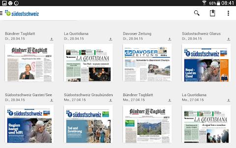 Südostschweiz (Tablet) screenshot 5