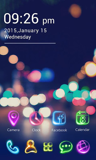 Tonight GO Launcher Theme v1.0.62 screenshots 2