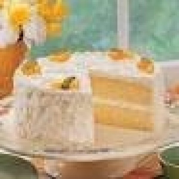 Mandarin Orange Cake With  Pineapple Frosting Recipe