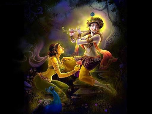 Lord Krishna Live Wallpaper HD 1.0 screenshots 2
