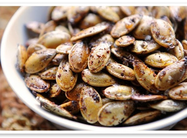 Kickin' Toasted Pumpkin Seeds Recipe