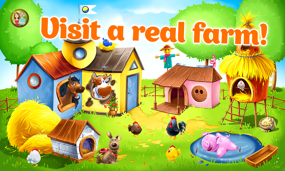 animal farm for kids learn animals for toddlers screenshot - Picture For Kids