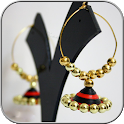 Earrings Quilling Design icon