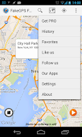 Screenshot of Fake Location Spoofer Free