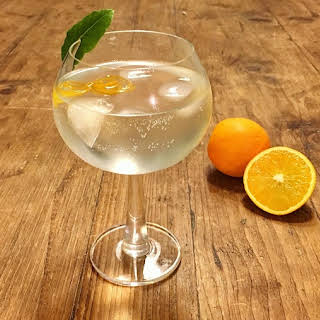Orange and Bay Infused Gin.