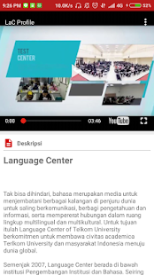 Language Center Telkom University- gambar mini screenshot