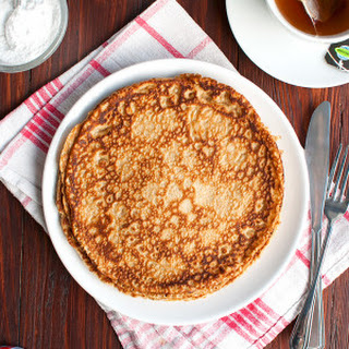 Whole Wheat Pancakes with Oats and Cinnamon Recipe