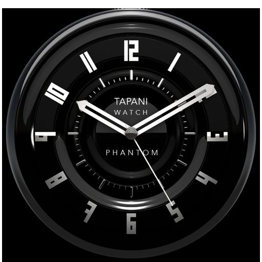 PHANTOM Designer Clock Widget