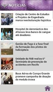 FAB (FORÇA AÉREA BRASILEIRA) screenshot 1