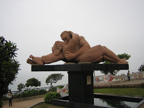 Photo: Lima, Denkmal ...love is in the air...