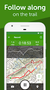 App AllTrails: Hiking, Running & Mountain Bike Trails APK for Windows Phone