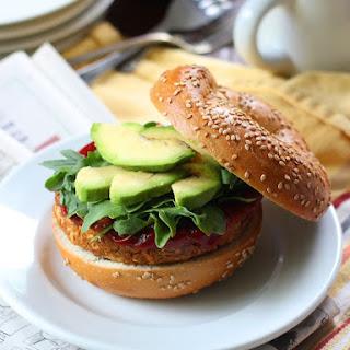 Smoky Apple Sage Chickpea Veggie Burgers (or Breakfast Sandwiches)