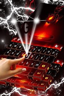 Red Metal Keyboard - náhled