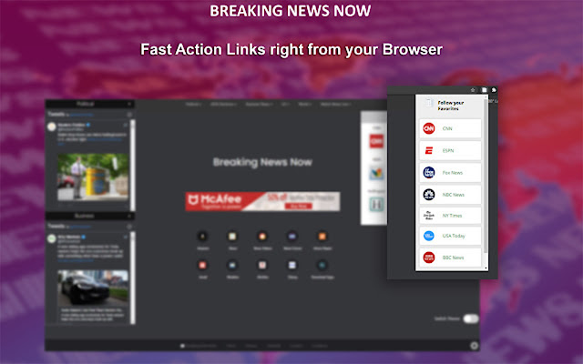 Breaking News Now New Tab