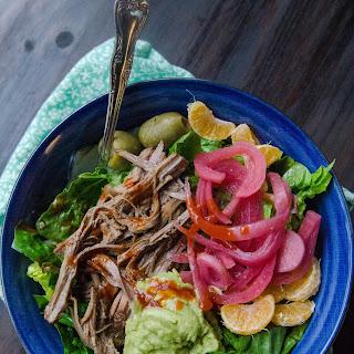 Slow-Cooker Cuban Brisket Taco Bowls