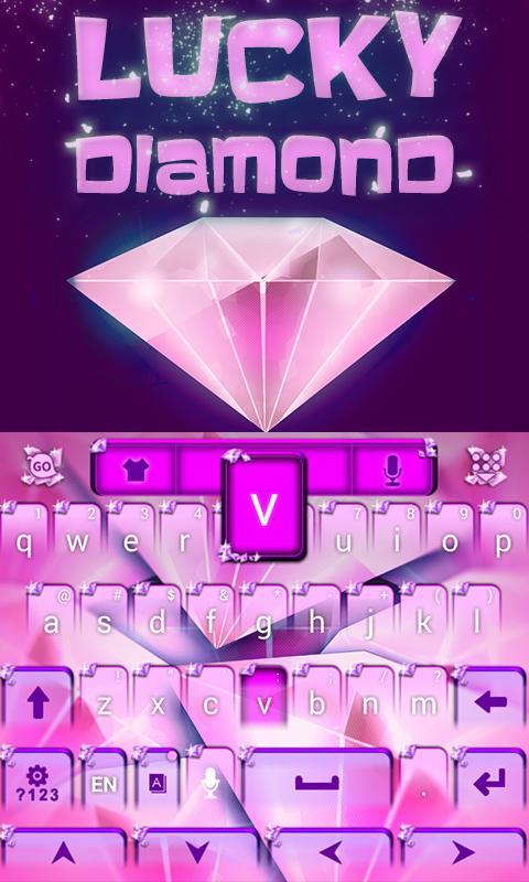 Lucky-Diamond-GO-Keyboard 11
