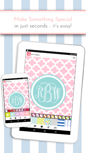 Screenshot for Monogram It! Custom Wallpapers in United States Play Store