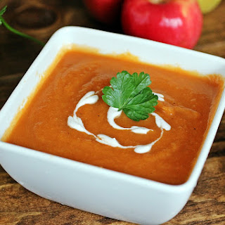 Creamy Carrot Ginger Soup!