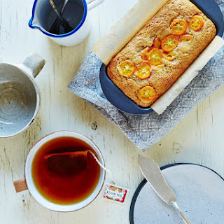 Cardamom Kumquat Mini Loaf.