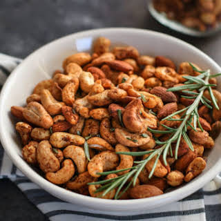 Chili and Rosemary Roasted Nuts.