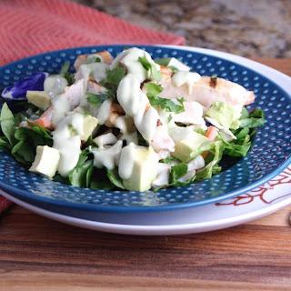Chicken Avocado Lime Salad.
