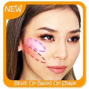 Blush On Based On Shape