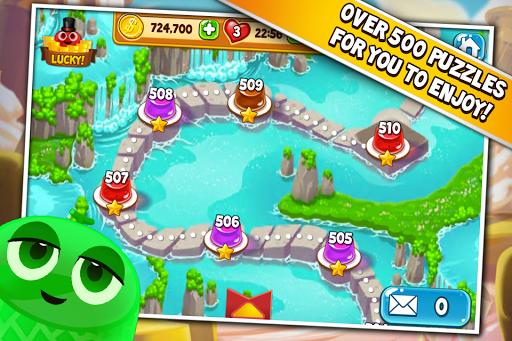Pudding Pop - Connect & Splash Free Match 3 Game screenshot 3