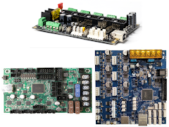 Controller Boards by Max Stepper Motors